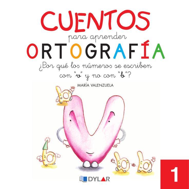 """Cuentos para Apreder Ortografía - ¿Por qué lo∫ número∫ se escribencon """"v"""" y no…"""