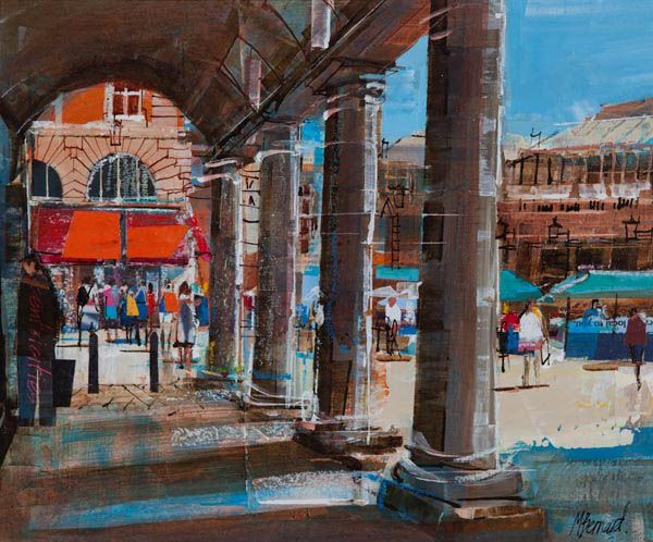 COVENT GARDEN ARCADE, Mike Bernard