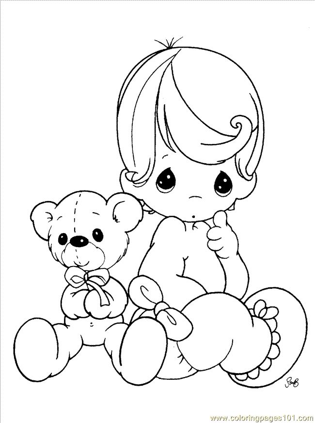 17 Best Images About Baby Digi Stamps On Pinterest
