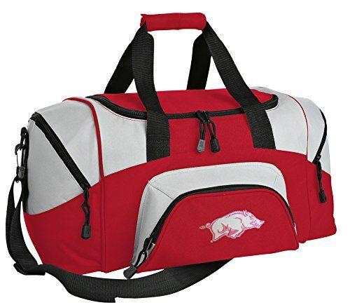 Ladies Arkansas Duffle Bag Girls Razorbacks Ladies Gym Bag Luggage Duffel