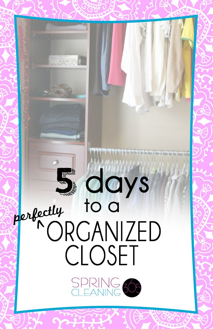 How to declutter organize your closet http for How to clean and organize your closet