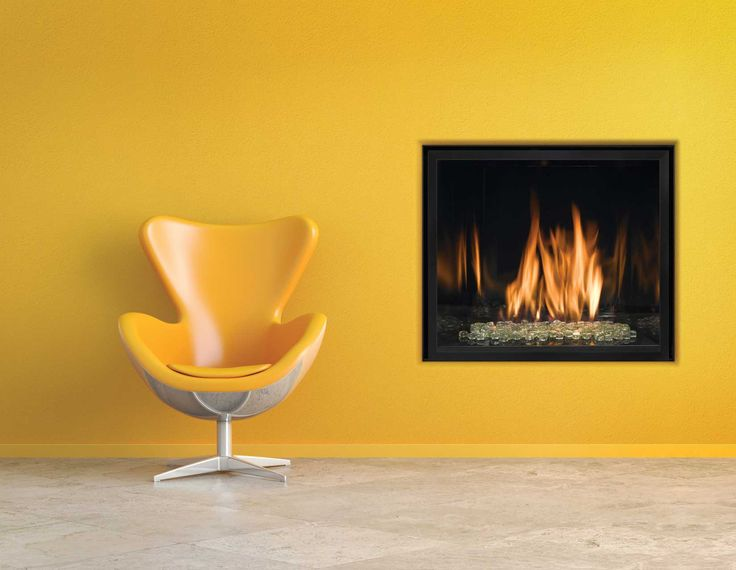 Click to view a larger image of this Mendota Fullview FV41 MOD fireplace scene