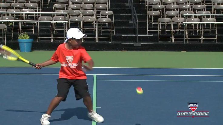 10 and Under Tennis Videos | 60 Orange Forehand Tehcnique