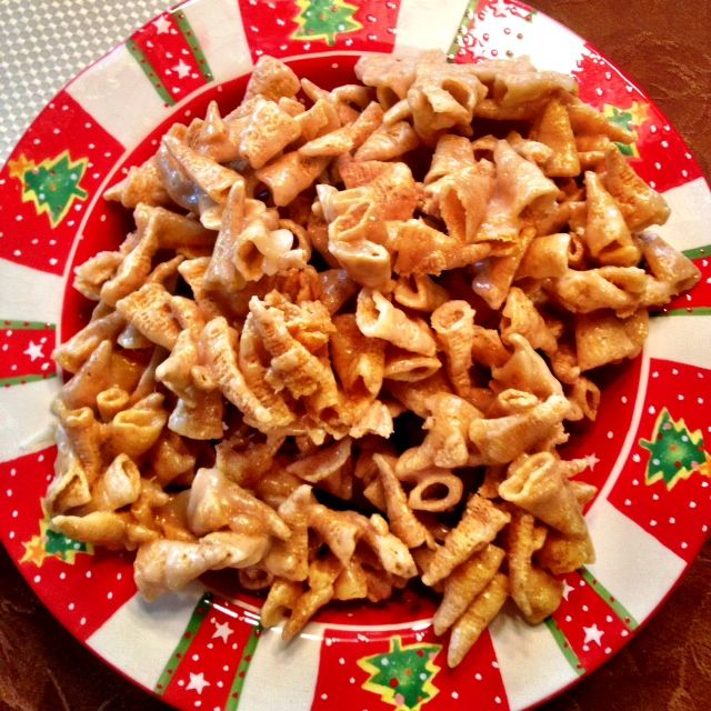I make this every year, only at Christmas, and my neighbors a ravenous for it! Easy, quick, and delicious, it's become a tradition that my friends and neighbors look forward to all year long.