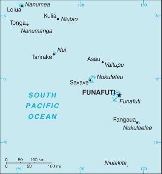 istory of Tuvalu ...map
