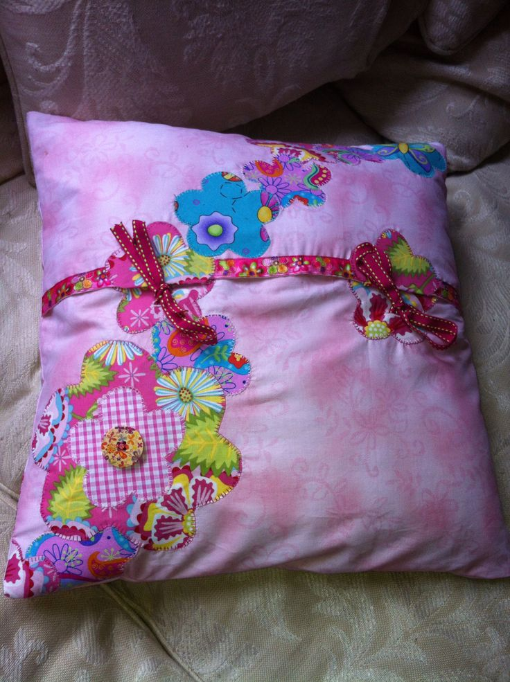 Back of Mia's cushion