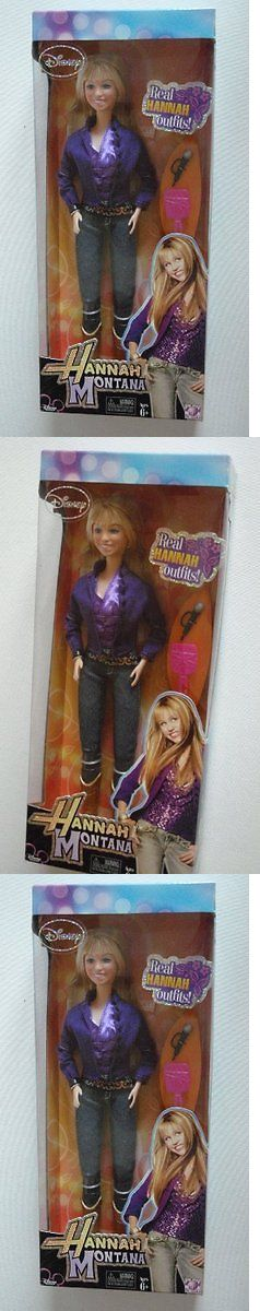 Hannah Montana 158763: Hannah Montana Doll In Purple Outfit -> BUY IT NOW ONLY: $77.78 on eBay!