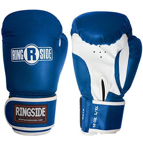 Ringside Striker Training Gloves BlueWhite SmallMedium >>> Want additional info? Click on the image.