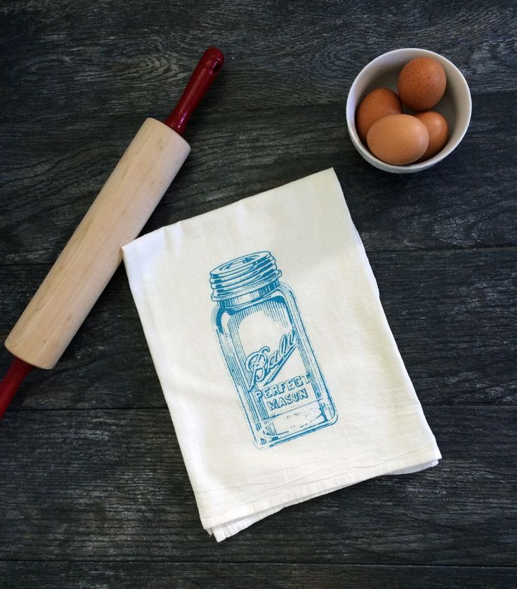 If you've never lusted after a tea towel, this one will surely change that. The Coin Laundry Print Shop; $12 from the Country Living Shop RELATED: 13 Cute Mason Jar Gift Ideas   - CountryLiving.com