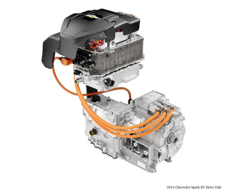 2015 Chevrolet Spark EV Drive Unit