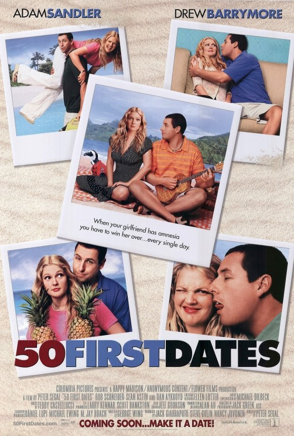 Adam sandler movies dating 50 first dates