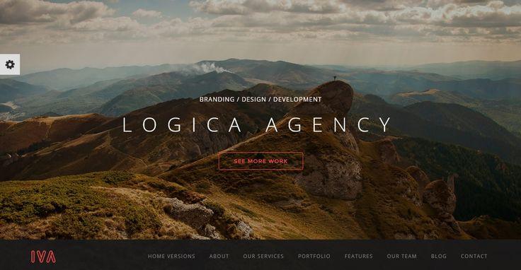 Multipurpose One Page Responsive WordPress Theme - Iva