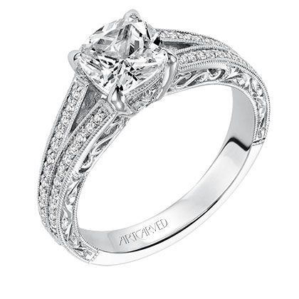 17 Best Images About Cushion Amp Princess Cut Diamond Engagement Rings On Pinterest