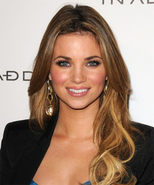 Amber Lancaster Hairstyles | Celebrity Hairstyles by TheHairStyler.com