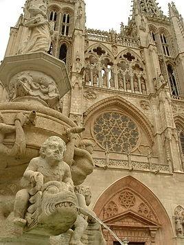 Catedral de Burgos España.
