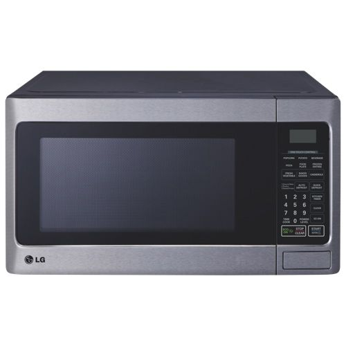 with a son soon going off to school, this will come in handy for him! LG 1.1 Cu. Ft. Microwave (LMS1190ST) - Stainless Steel For warm meals on cool days. #SetMeUpBBY