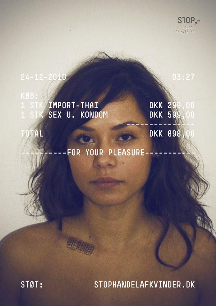 Human trafficking ad