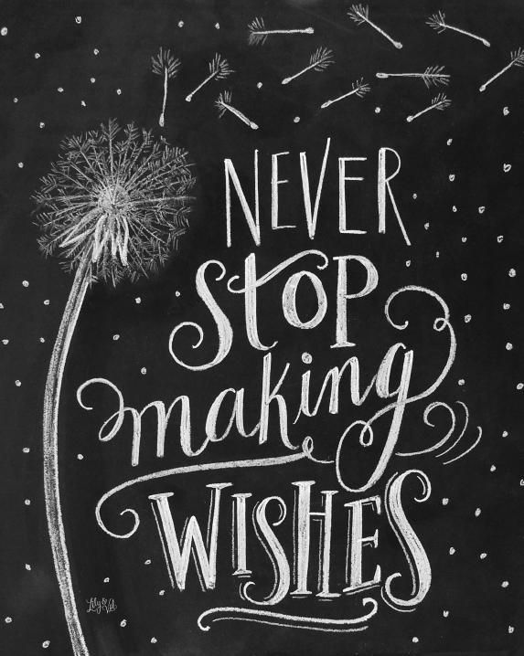 Never Stop Making Wishes - Digital Download from Lily & Val. Saved to house. Shop more products from Lily & Val on Wanelo.