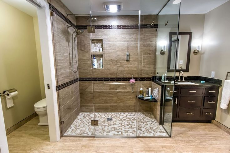 34 best home ~ curbless shower images on Pinterest | Showers, Bath ...