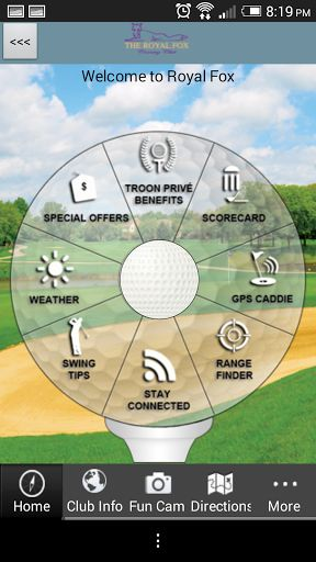 Do you enjoy playing golf at Royal Fox Country Club in Illinois?  The OFFICIAL Royal Fox Country Club app gives golfers a free, easy to use, interactive combination of comprehensive course information, GPS positioning, digital scorecard, augmented reality range finder, and various other useful club-specific features.<p>GPS Caddie<br>- Instantly view distances to the tee, front, back, and middle of the green, as well as par for each hole<br>- Interactive shot positioning: simply touch the…