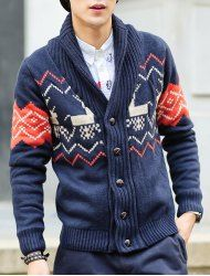 Cardigans & Sweaters For Men | Cheap Cool Cardigans For Men & Mens Knit Sweaters On Sale Online At Wholesale Prices | Sammydress.com Page 4