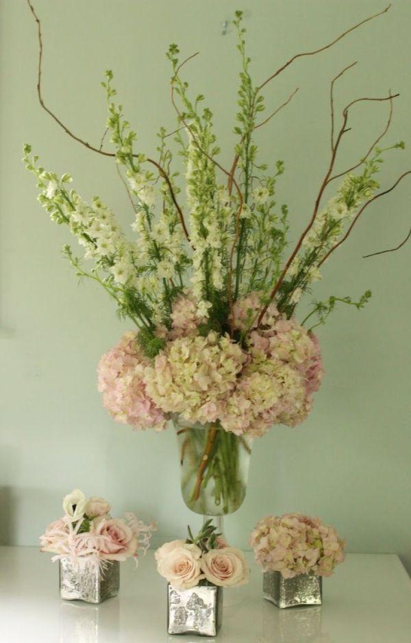 Best green wedding flower arrangements ideas on