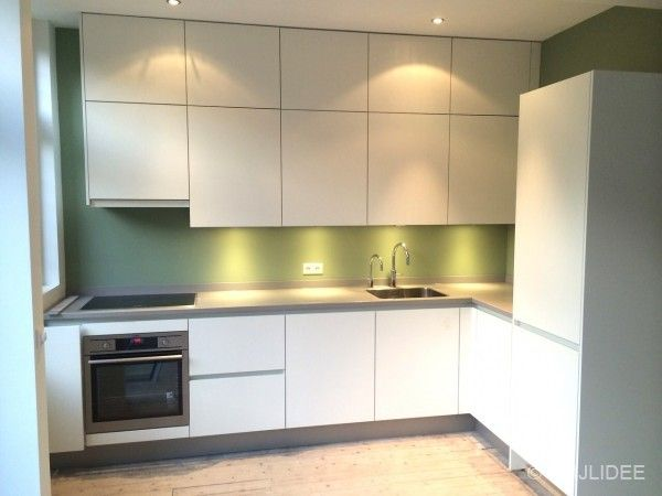 25 beste idee n over groene keuken op pinterest groene keukenkastjes keuken foto 39 s en groene - Trendkleur keuken ...