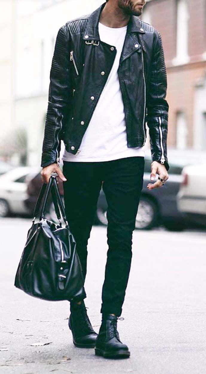 The 25+ best Men's leather jacket ideas on Pinterest ...
