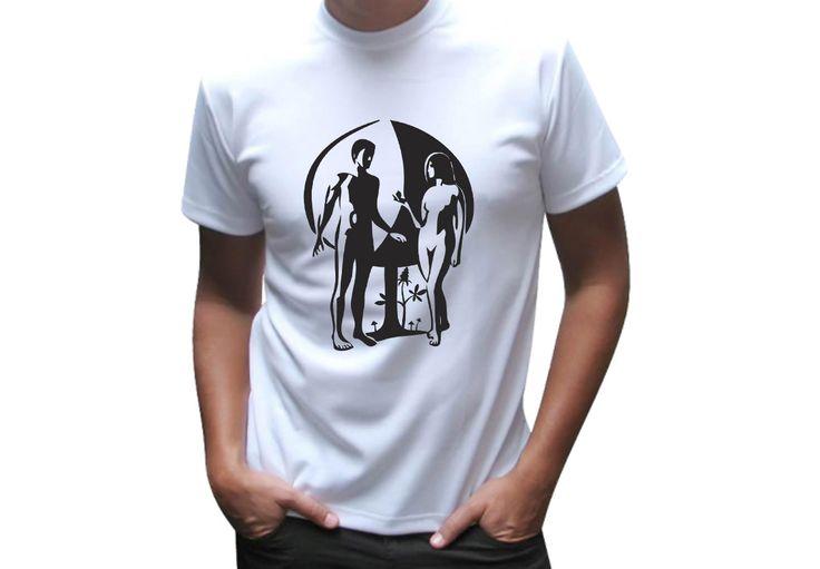 Print for t-shirt – Adam and Eva 2