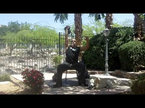 Mike Mahler covers seated kettlebell exercises such as pressing, cleans, snatch