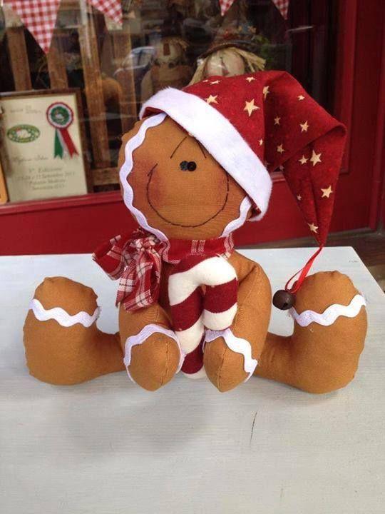 Simpática cookie navideña