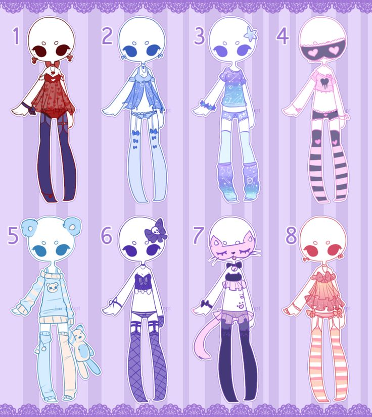 74 best Chibi clothes images on Pinterest   Anime outfits ...