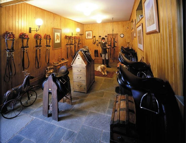 Tack Room Design Ideas Part - 30: Gorgeous Design For A Large Tack Room