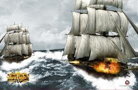 Alarm: Pirater! Fulde bredsider i søslag! Et piratliv er hårdt og søen rå og farefuld. Målet: At blive indskrevet som hersker på de 7 have!  Styr din skude ind i eksplosive søslag, kæmp mod gigantiske sømonstre og oplev strategi, eventyr og action samtidig. Seafight tilbyder dig over 100 forskellige skibsdesigns, 4 område søkort, med over 60 kort og nye opdateringer med nye fjender, quests og udfordringer.