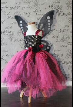 Wonderful butterfly tulle costume