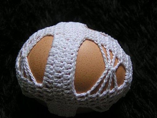 Gabriela.art / Háčkované vajce 15
