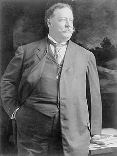 William Howard Taft (September 15, 1857 – March 8, 1930) was the 27th President of the United States (1909–1913) and later the tenth Chief Justice of the United States (1921–1930). He is the only person to have served in both of these offices.