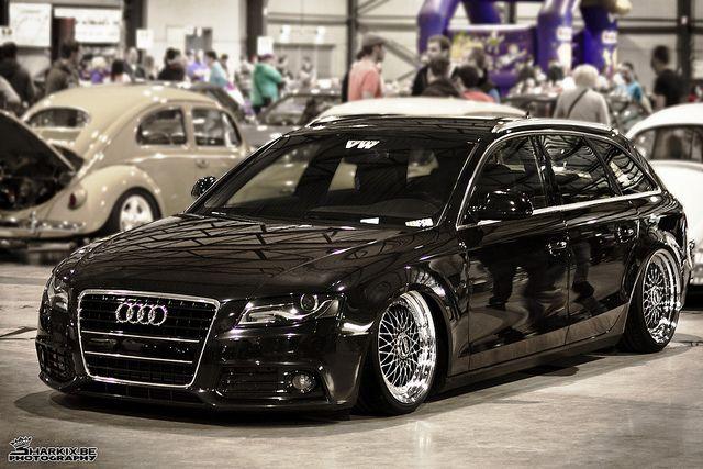Audi A4 B8 Avant on BBS wheels - Low. Inspiring..OH I can't wait!!