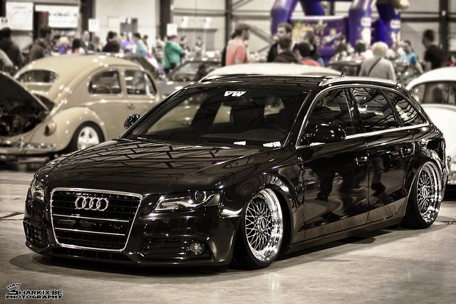 Audi A4 B8 Avant on BBS wheels - Low.   Inspiring..OH I can't wait!!