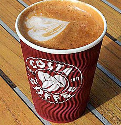 Image result for costa large skinny latte
