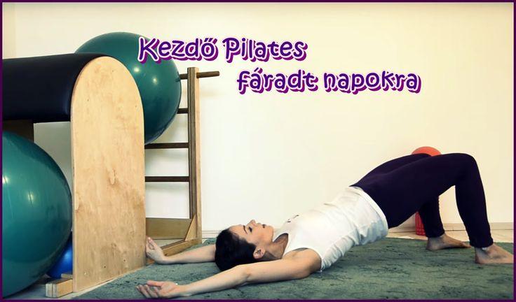 Kezdő Pilates fáradt napokra