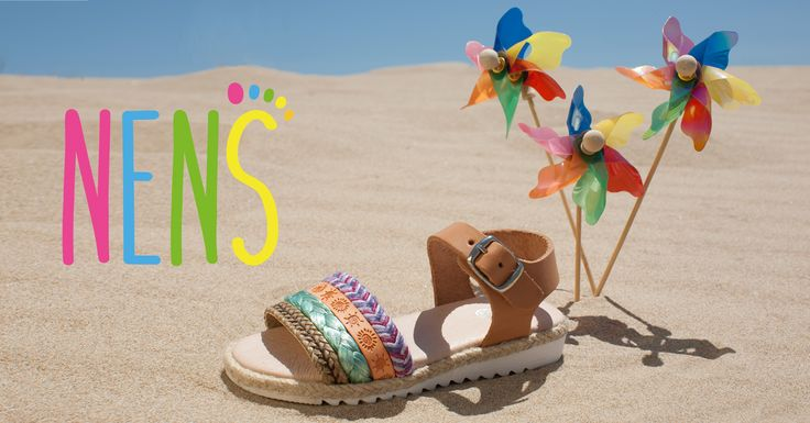 NENS SS17- HAPPY SUMMER!! Enjoy the sun, the sea and the beach with these spectacular NENS sandals.