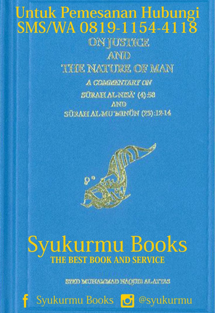 Sell On Justice And The Nature Of Man, Buku Syed Muhammad Naquib Al Attas, Buku Syed Naquib Al Attas, Books Syed Naquib Al Attas