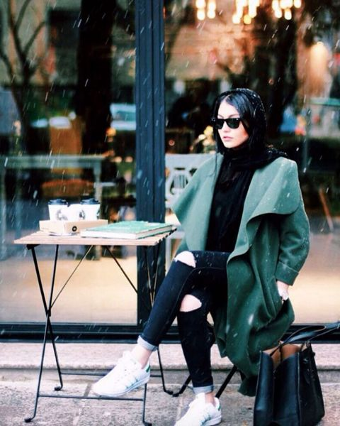 The Tehran Times — Iranian Manteau used to be a uniform nowadays it's...