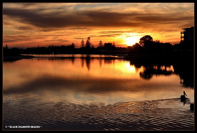 Winter Sunset Forster-Tuncurry, Mid North Coast, NSW Copyright - All Rights Reserved - Black Diamond Images
