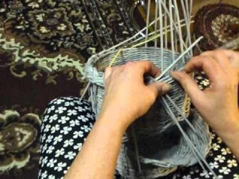 pletení z papíru copanková uzavírka video Mikyna