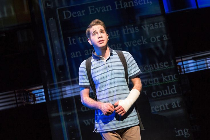 "One of the best new musicals of the season isn't on Broadway, but off — the funny, touching ""Dear Evan Hansen."" Ben Platt (from both ""Pitch Perfect"" movies) gives a remarkable performance in the ti…"