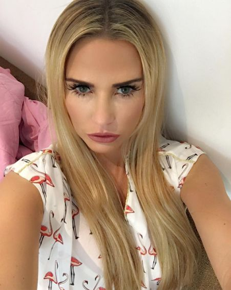 Katie sports longer locks on Loose Women just ONE day after revealing her short bob [Katie Price/Instagram]