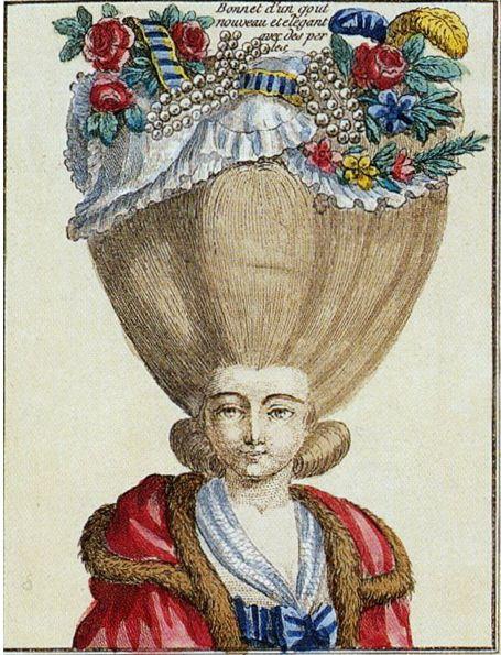 Tornyos hajú rokokó nők. A női frizurát extrém magasságokba emelte a divat a 18. század második felében. Míg a férfiak parókát hordtak, a hölgyek inkább hihetetlen mennyiségű anyagot dolgoztattak bele a toronymagas, különleges hajkreációikba. A természetes megjelenés jegyében. A fodrászok aranykora volt ez.   A rokokó divathölgyek már ritkán...