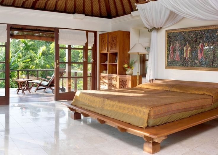 bali house in colonial style with local art works digsdigs - Bali Bedroom Design